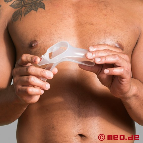 Speculum made of hygienic material