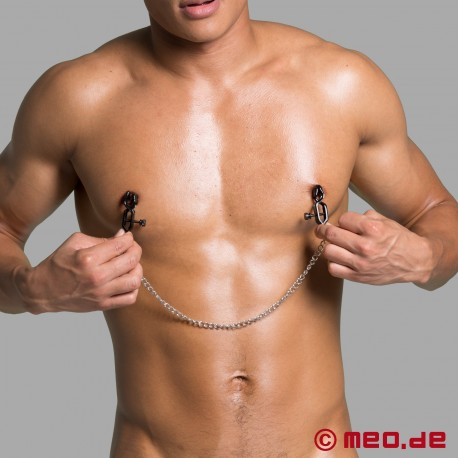 Black Tiger Nipple Clamps