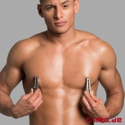 Strizzacapezzoli - Mollette per capezzoli pesanti in acciaio