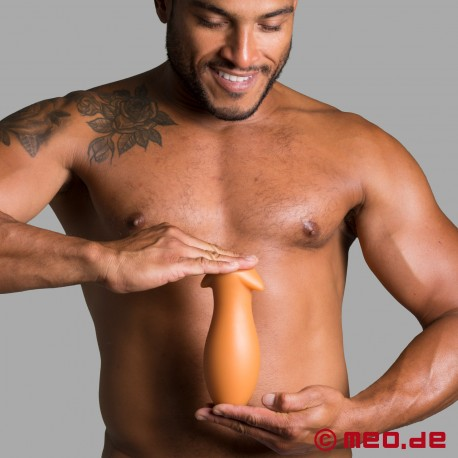 Dilatatore anale Big Boy Butt Plug - oro