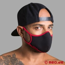 Adjustable designer mask with replaceable filter
