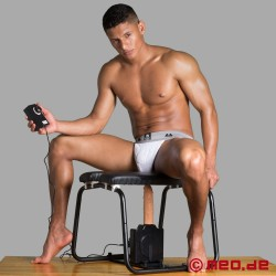 4-in-1-Banging-Bench mit Sexmaschine