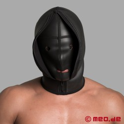 "Neoprene Deprivation Hood ""CONFINEMENT"""